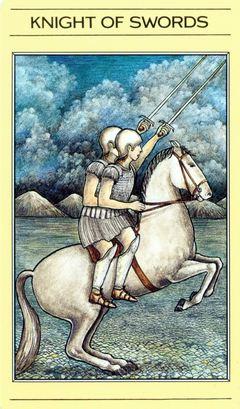 Card Meaning Of Knight Of Swords Lotus Tarot